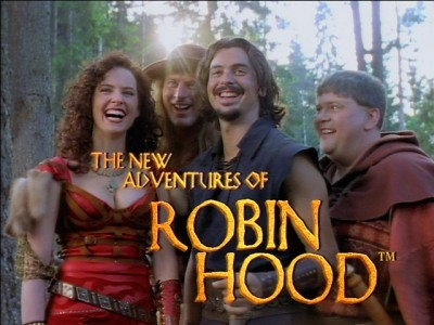 The New Adventures of Robin Hood, Little John, Marian, Nottingham, Prince John, Robin Hood
