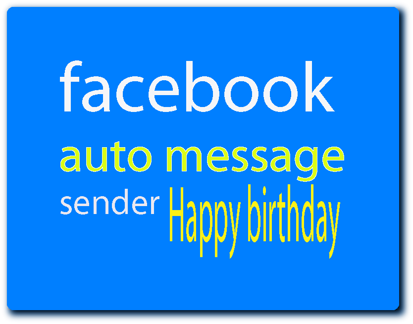 How to auto send Birthday message to all friend at once